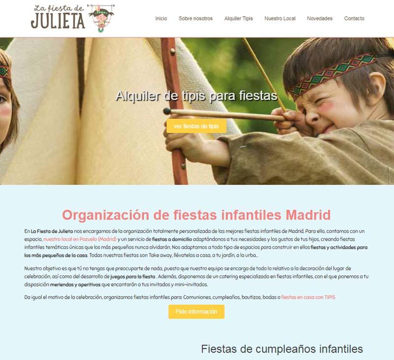 Diseño web infantil